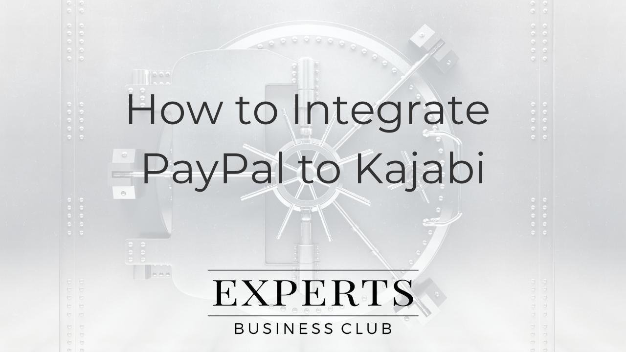 Kajabi Paypal Integration