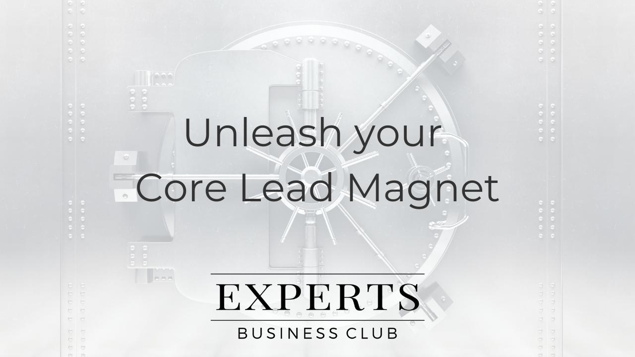 Core Lead Magnet