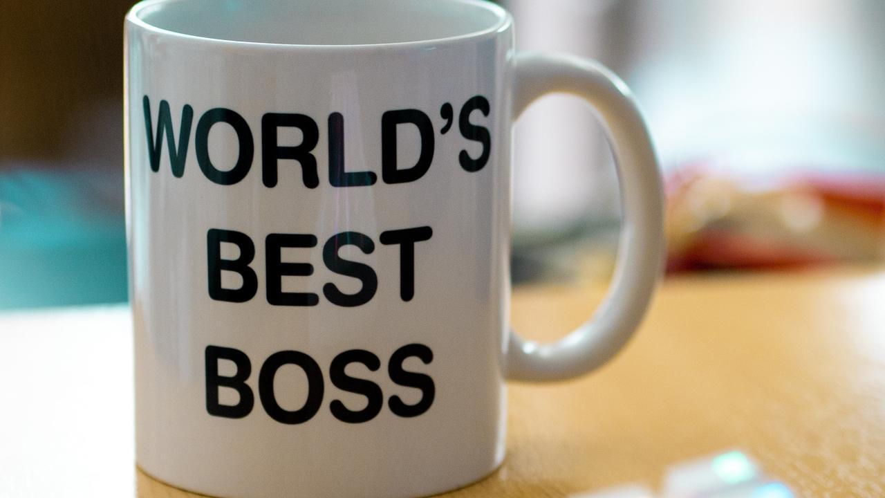 Has a good boss ever had a mug that says