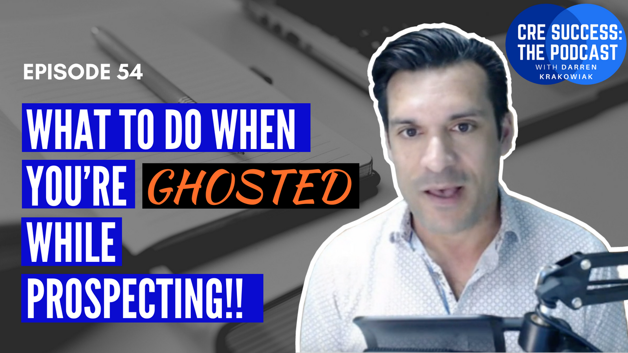 If you're ever felt ignored by a prospect during a sales process, you'll love this episode and blog post about getting ghosted.