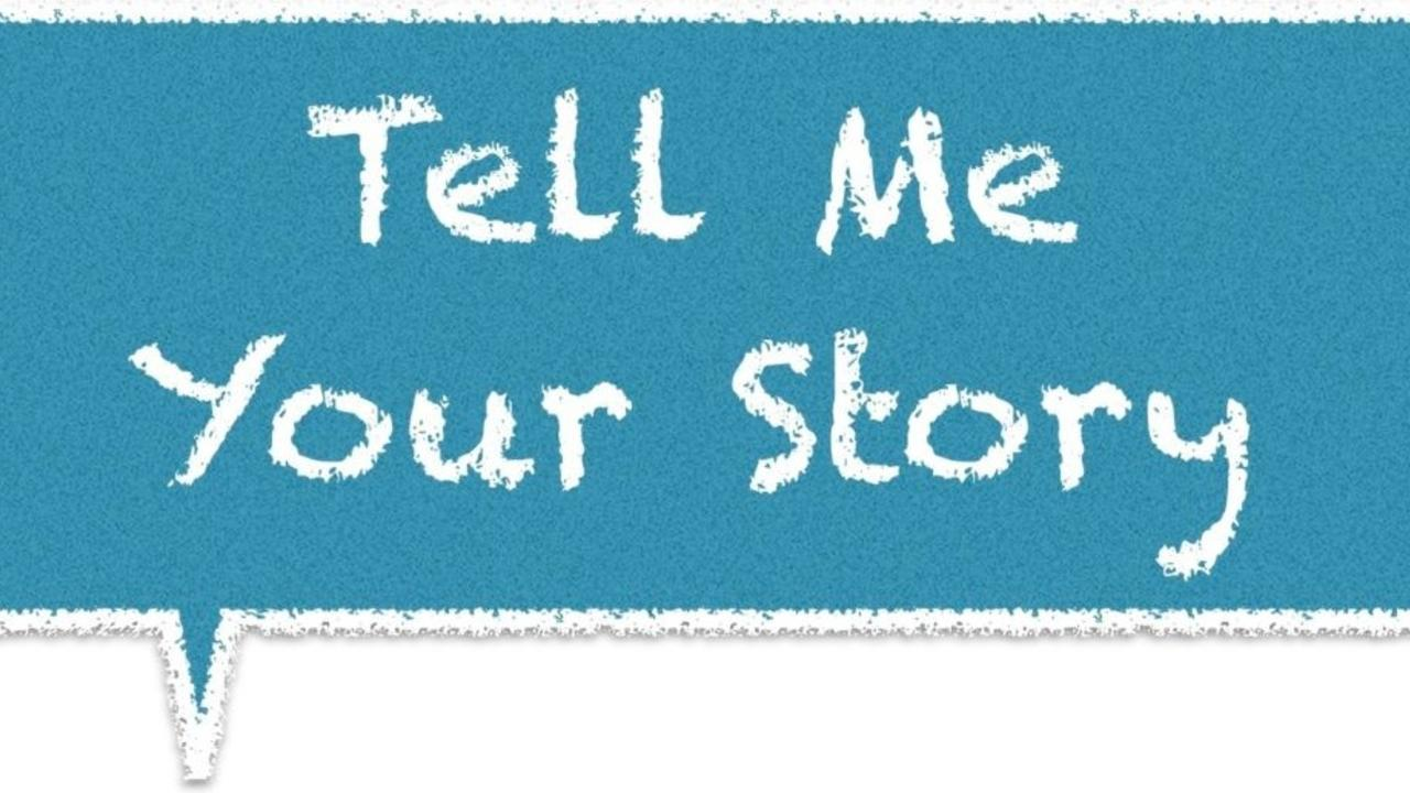 Tell Me Your Story practice your listening with all of your senses