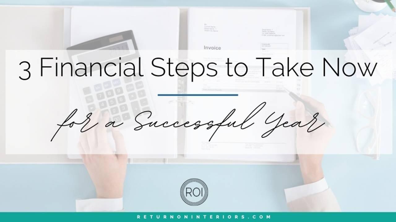 small business, interior designer, financial goals