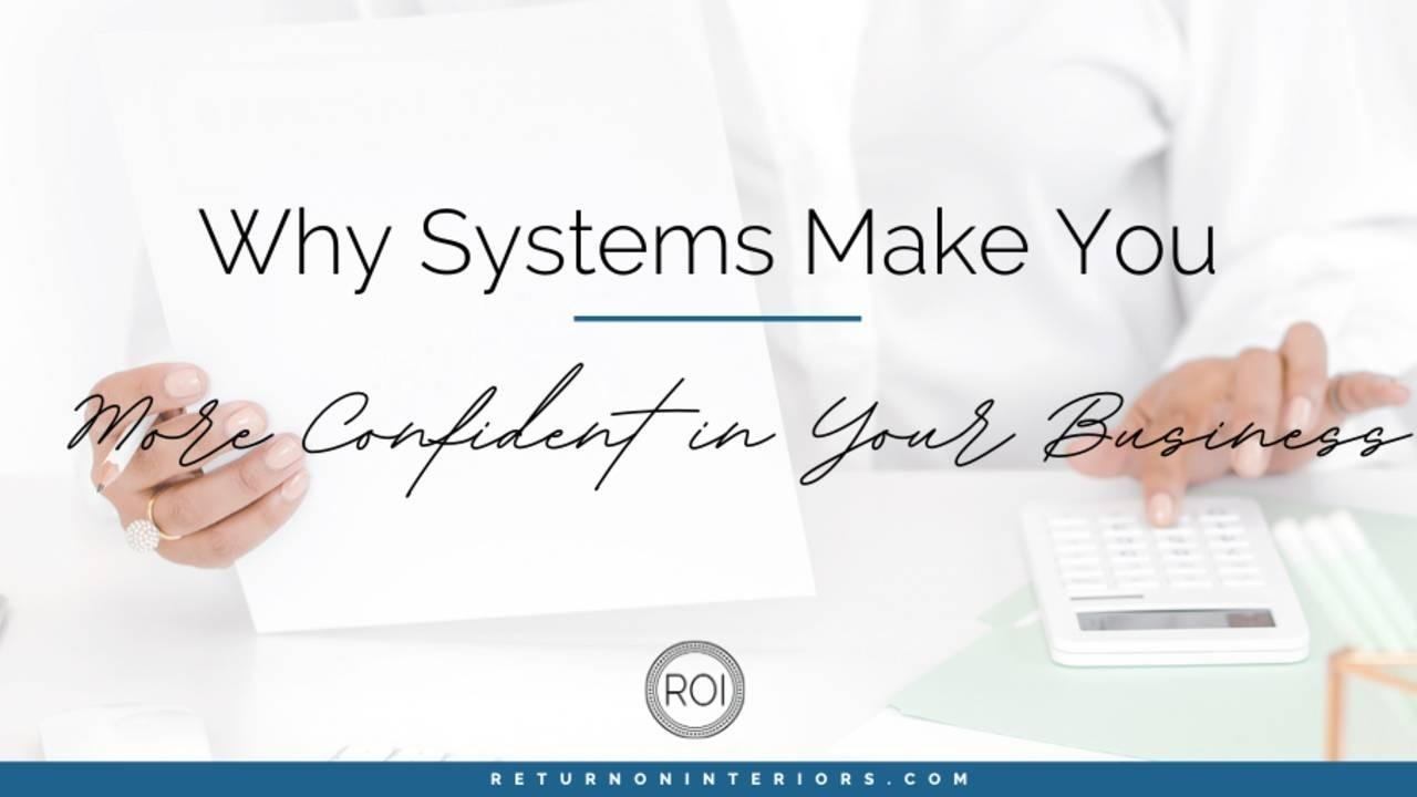 small business, systems, ROI, processes, organization, business goals