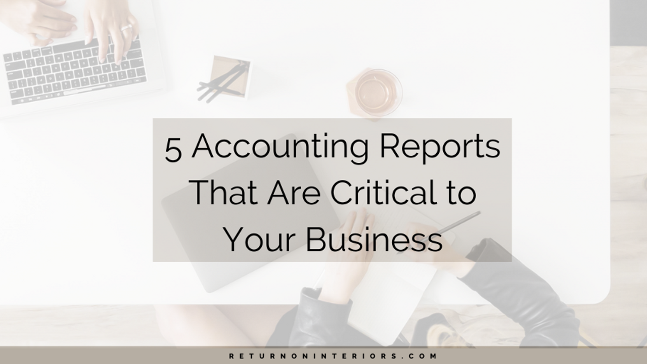 small business, entrepreneur, accounting, business reports