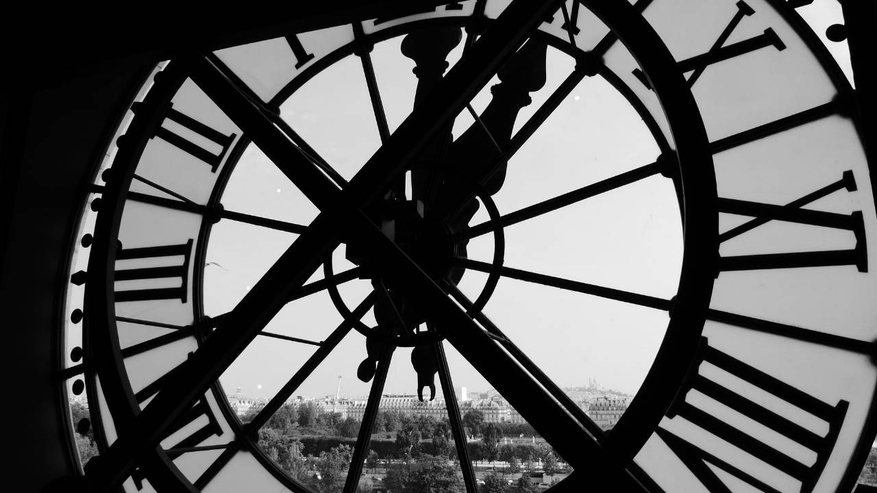 image of clock for blog post about time