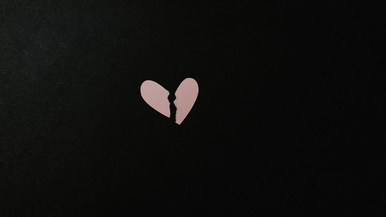 image of broken heart to support blog post about broken trust