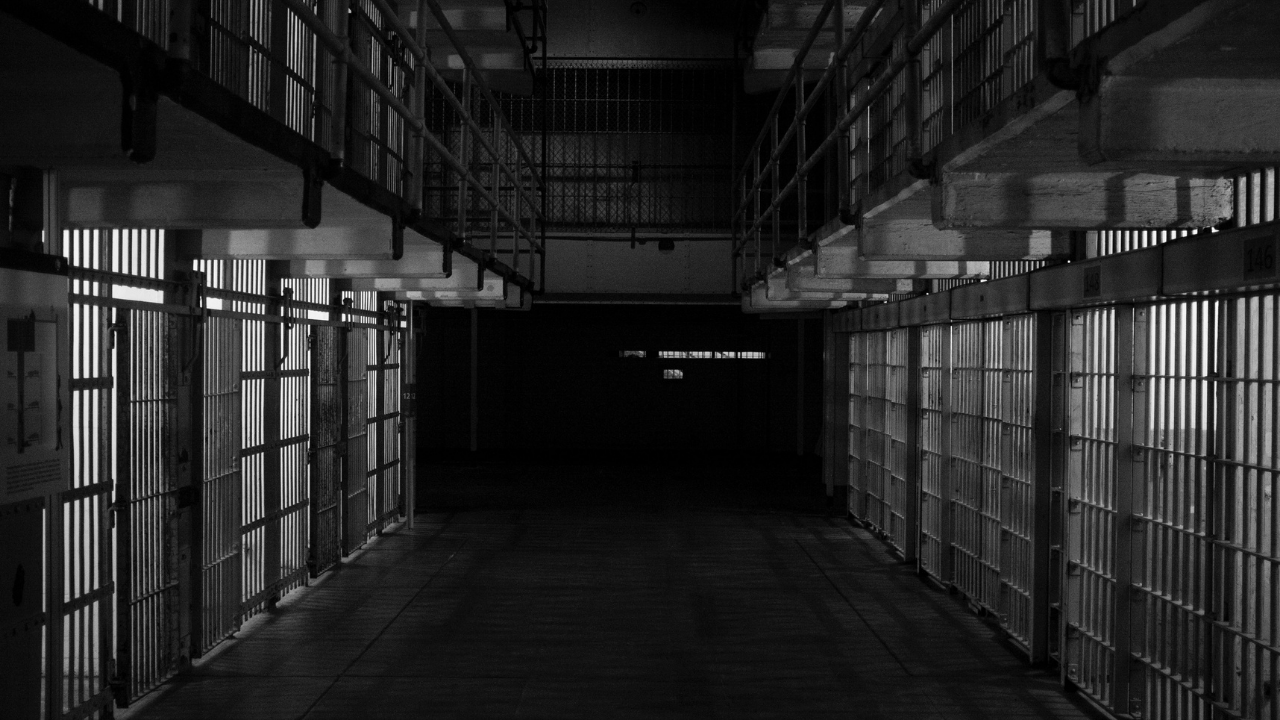 image of prison to support blog post about freedom