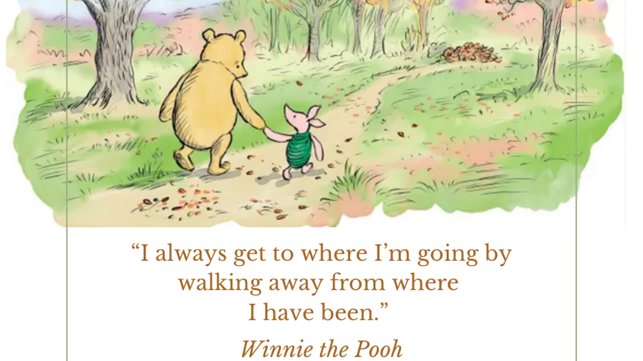 Lessons from Winnie the Pooh
