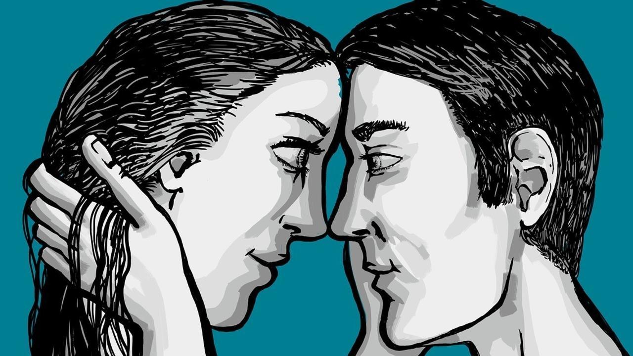 Communication in tantric eye-gazing