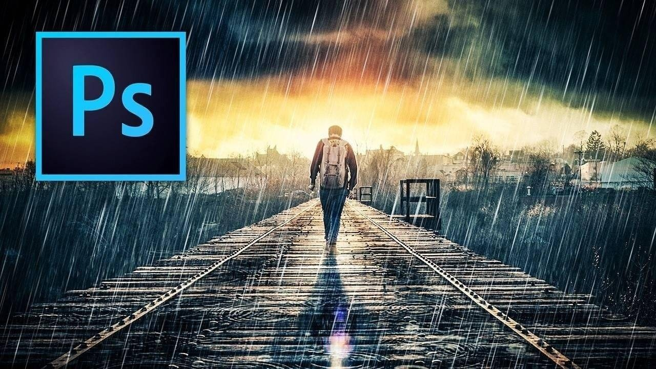 How to Add Rain in Photoshop