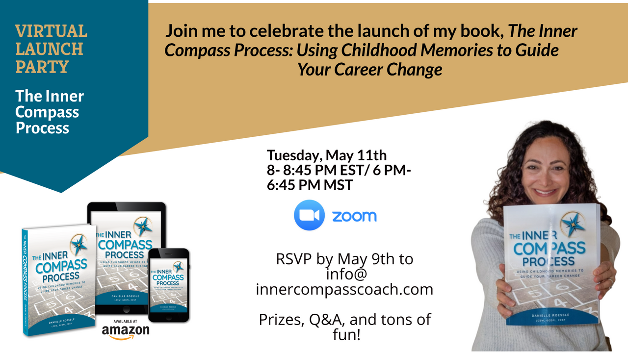 Danielle Roessle, Author of Inner Compass Coach, Launch Party