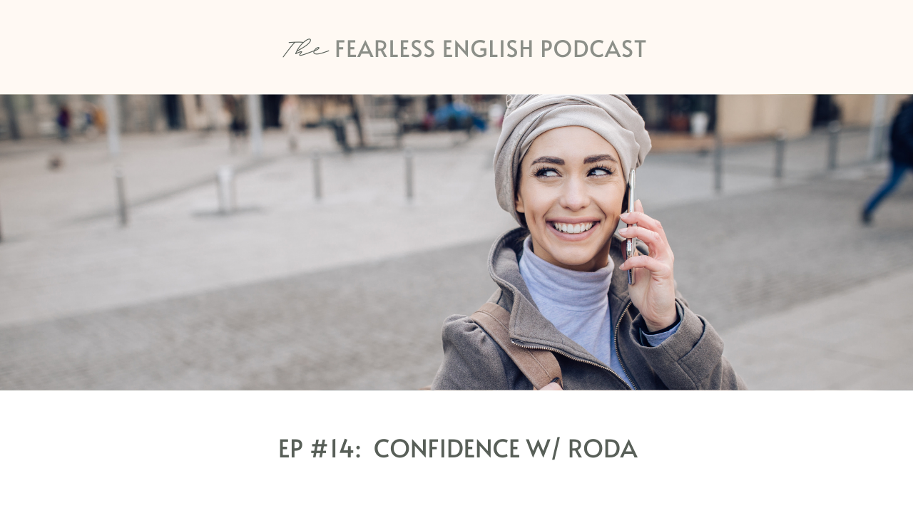 confidence in english