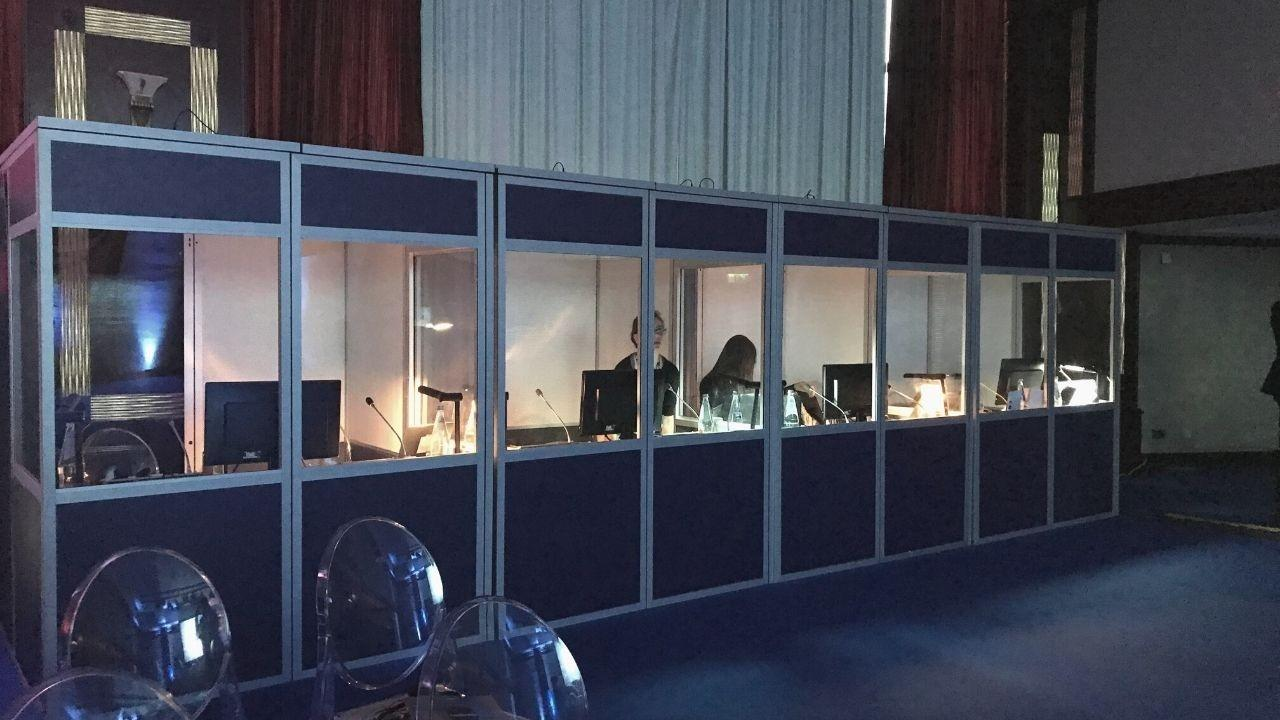 conference interpreting booth