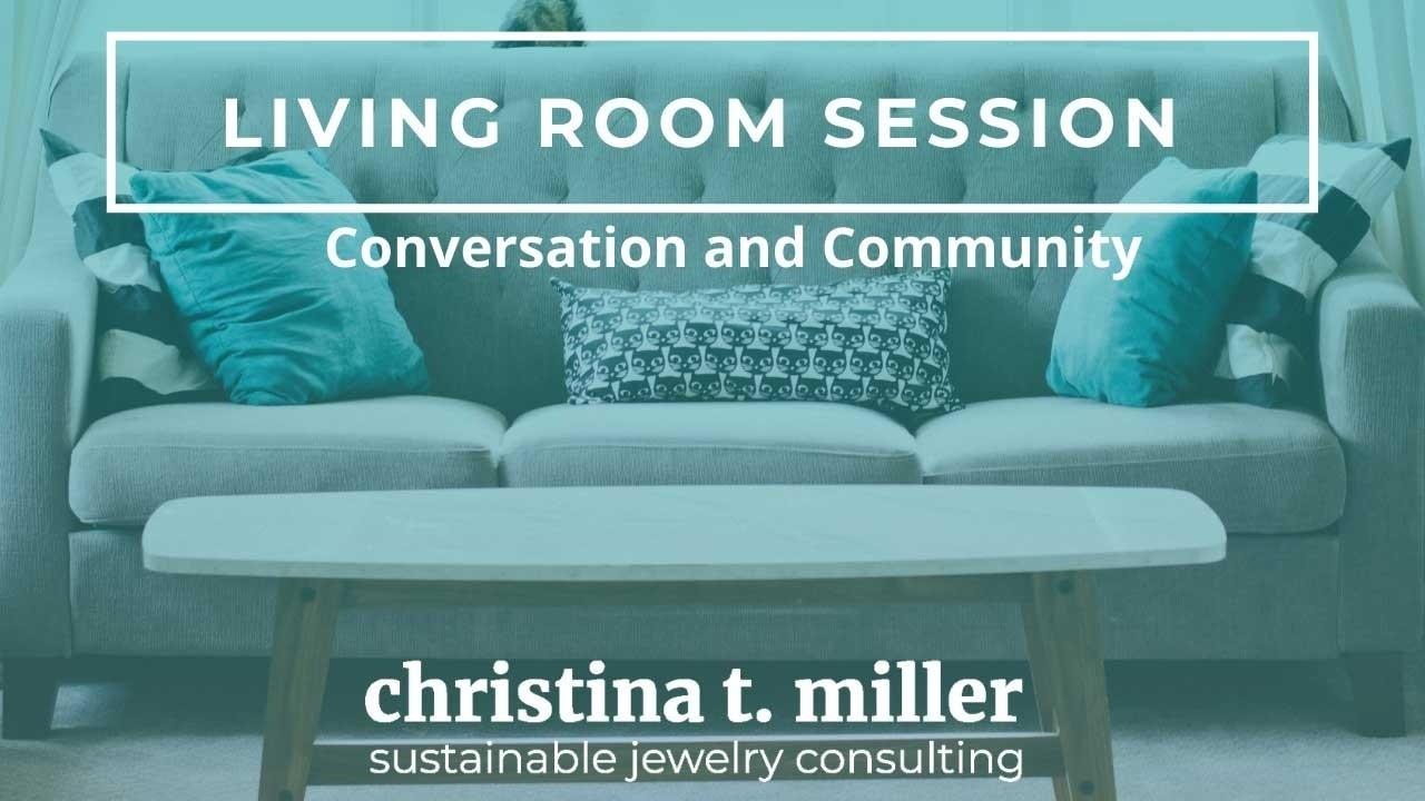 Christina T Miller living room sessions