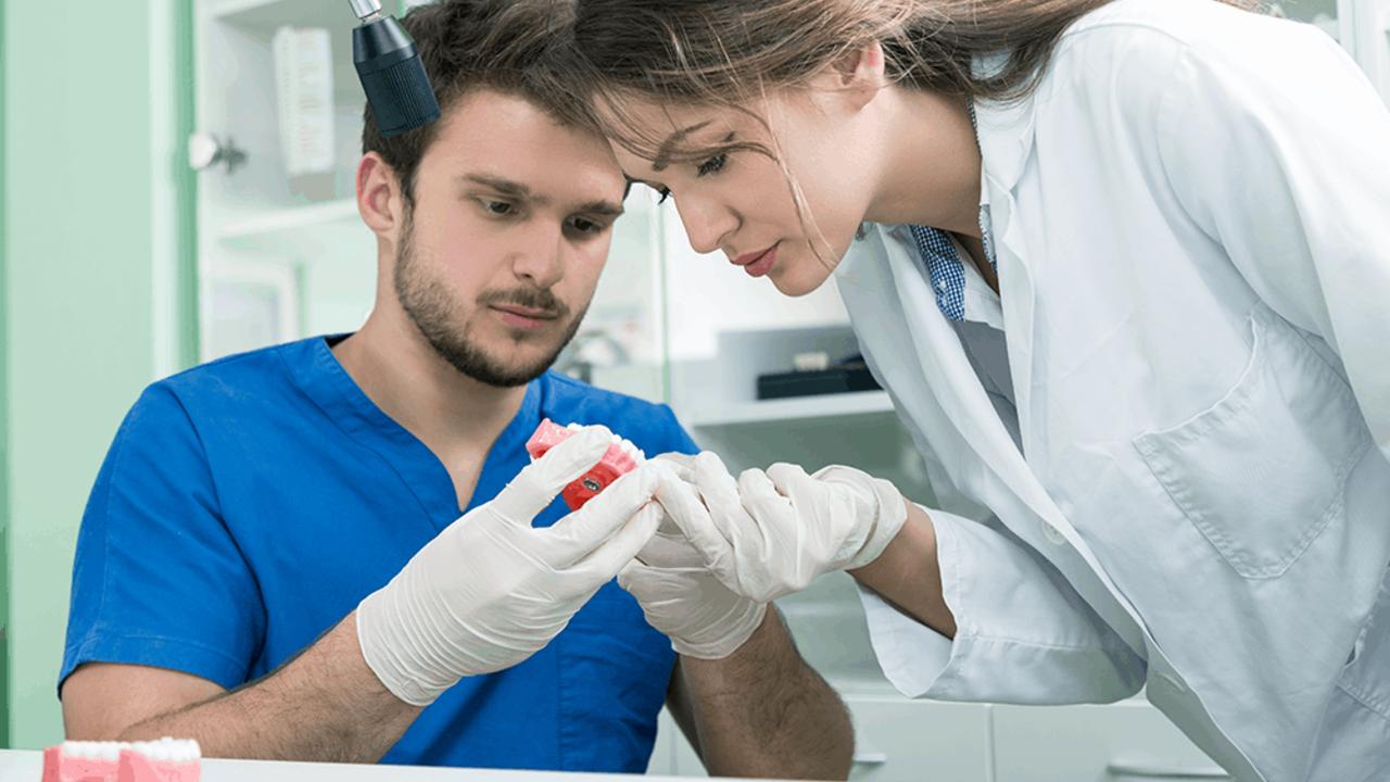 Dental Assistants working together