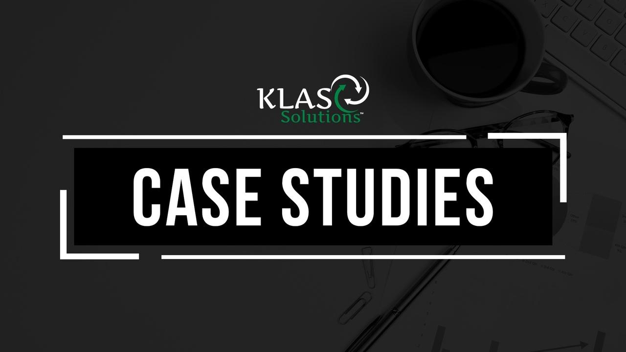 KLAS Solutions Case Study Graphic