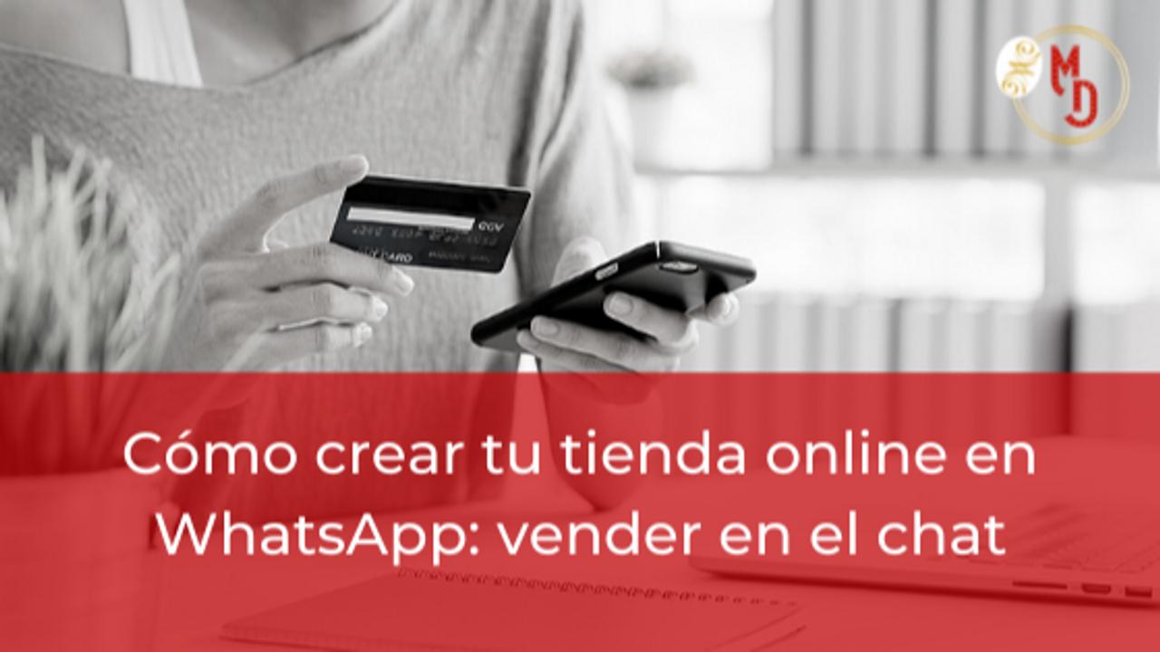 Tienda online: vender en whatsapp