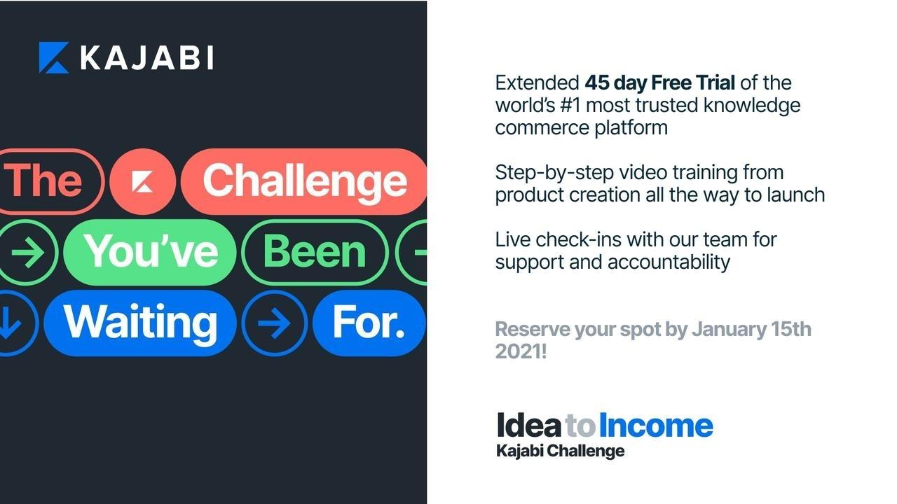 Idea to Income Challenge