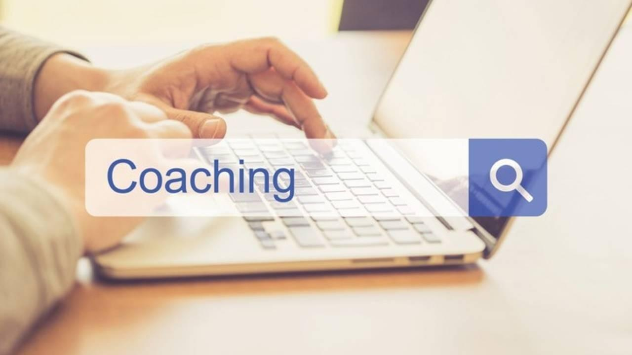 SEO Coach laptop search