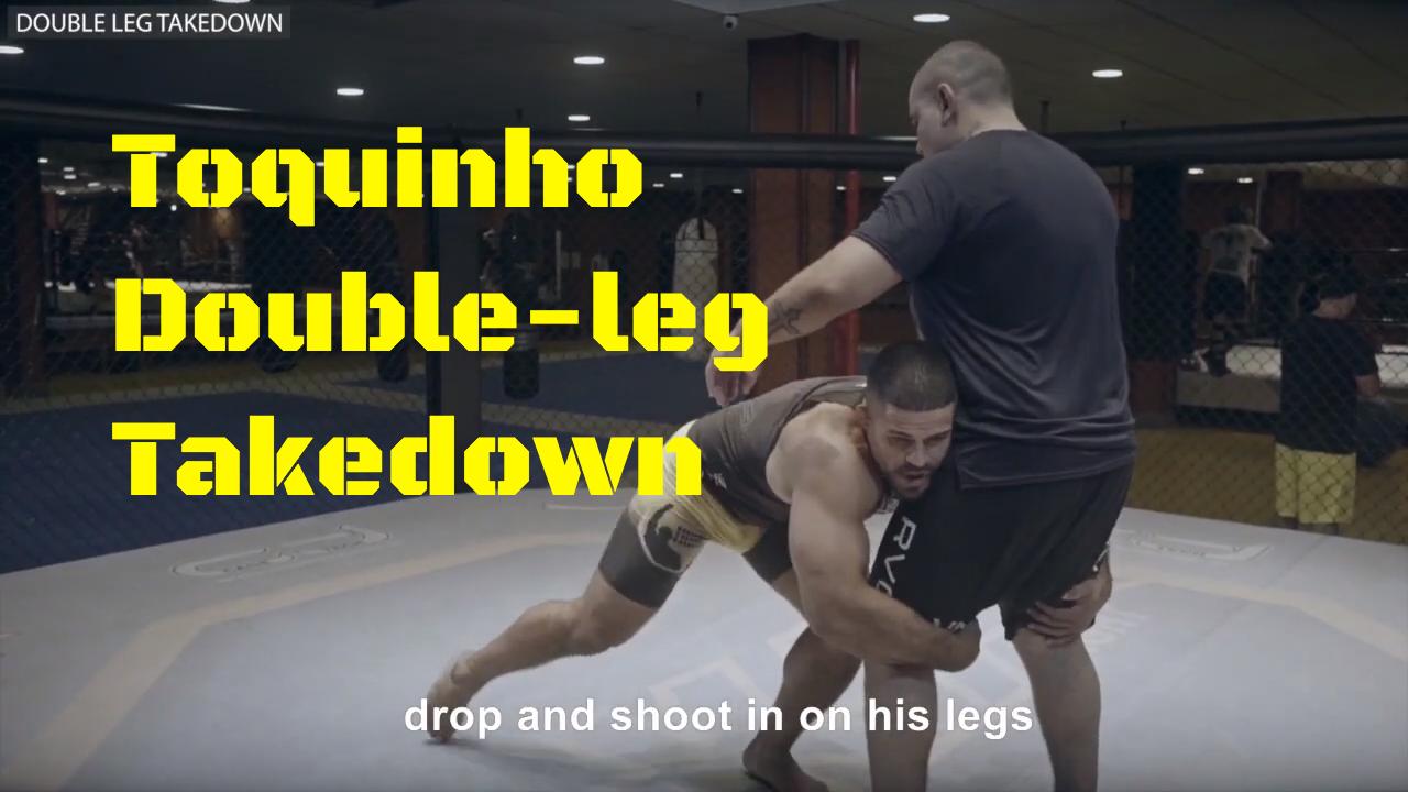 Double Leg Takedown Rousimar Toquinho Palhares