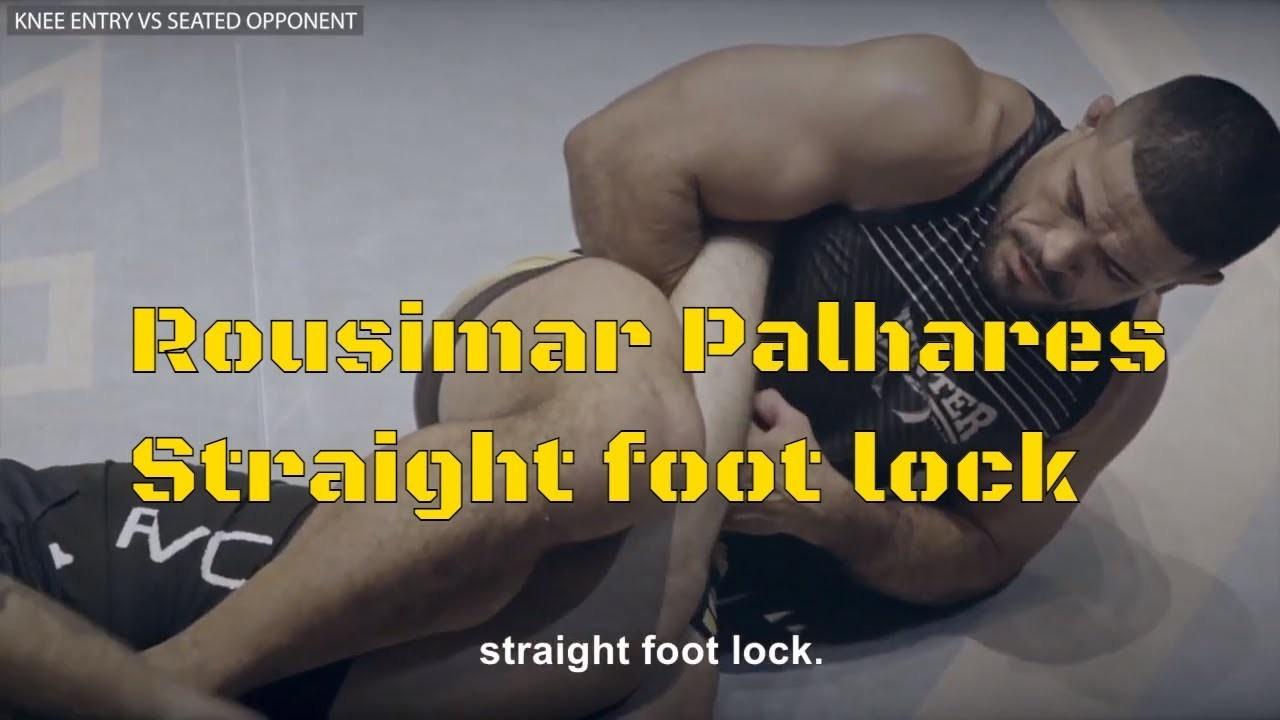 straight ankle lock toquinho