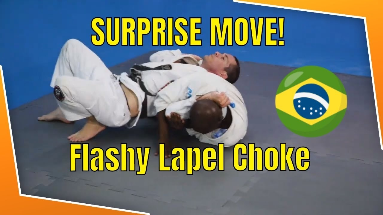 lapel choke side control