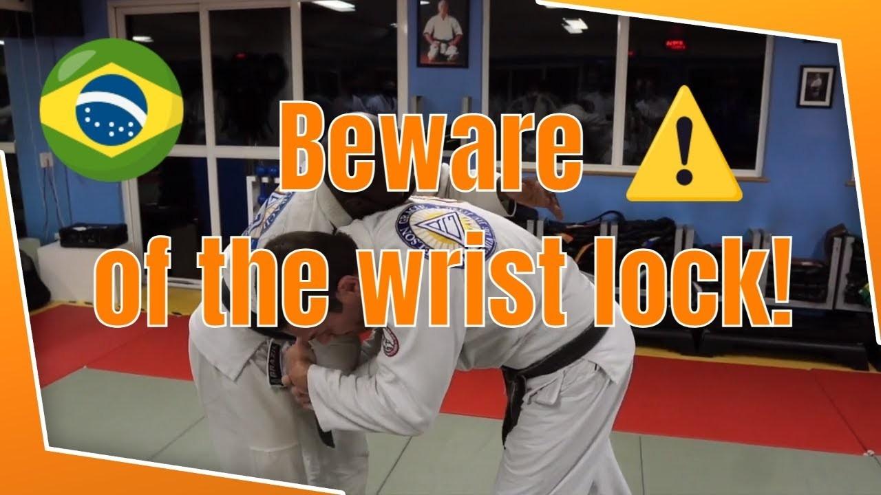 Wrist Lock Standing Jean Vandesteen