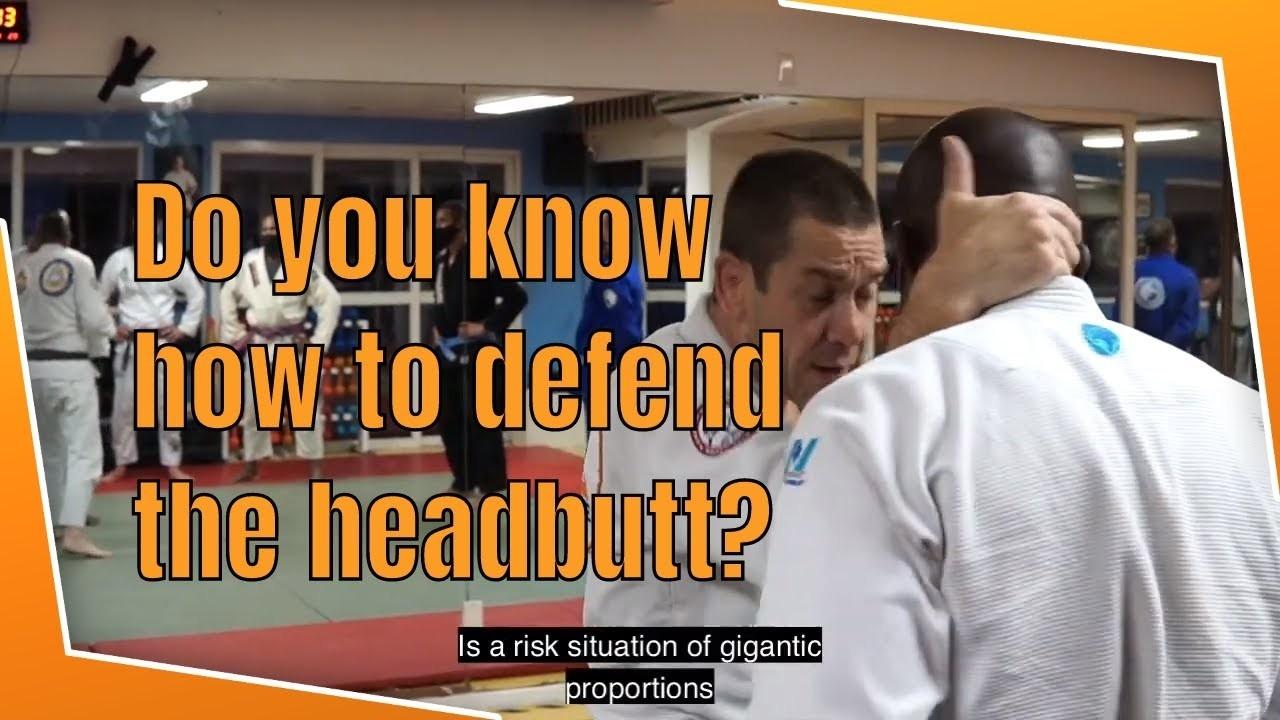 headbutt self defense