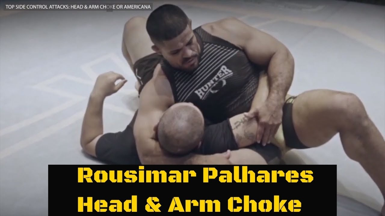 head and arm choke toquinho
