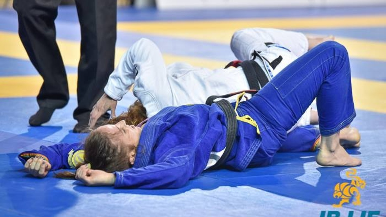 IBJJF tired image