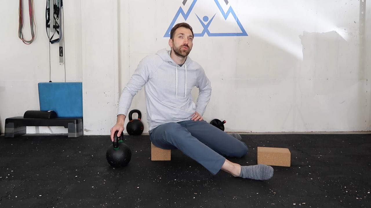The Hip Internal Rotation Stretch