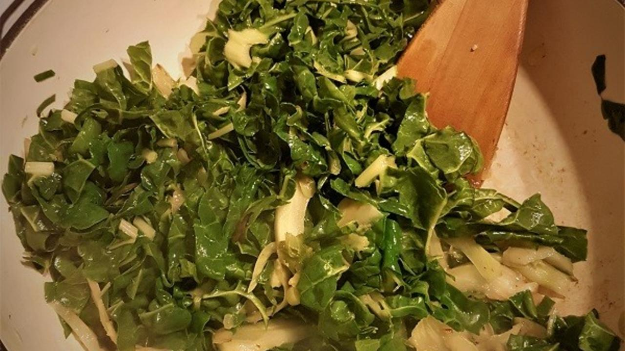 Sauteed Leafy Greens