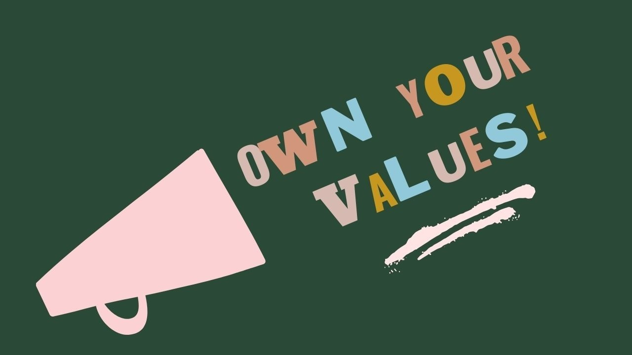 Own your power Own your values Angela Parker Embodied Journaling Coaching