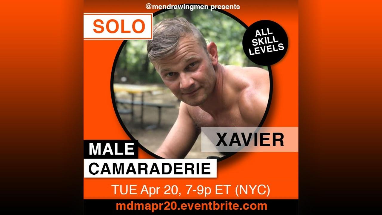 shirtless Xavier