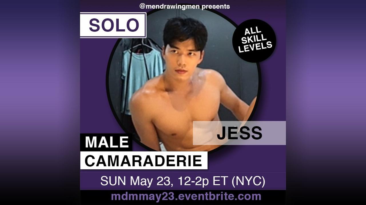 shirtless Jess
