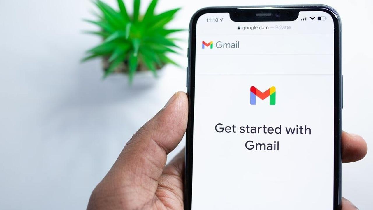 Gmail en el teléfono