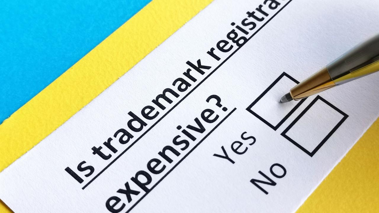 How much does it cost to register a trademark for your online course