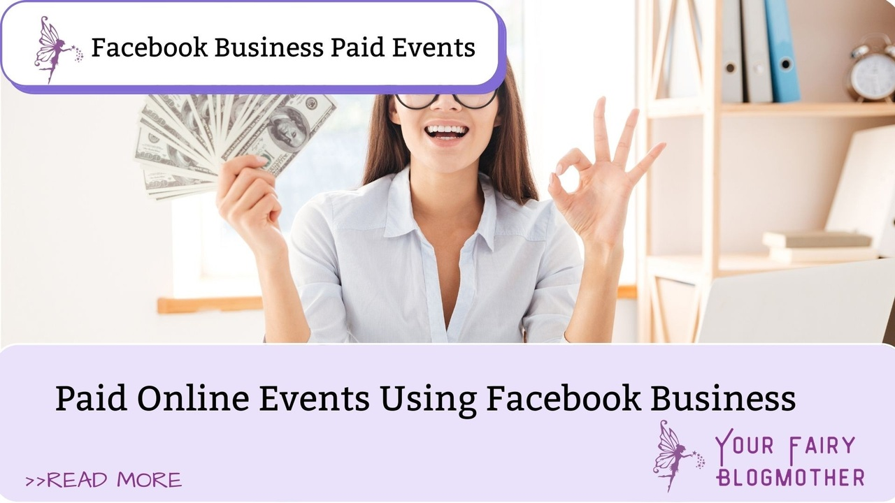 women with cash Facebook Business Paid Online Events