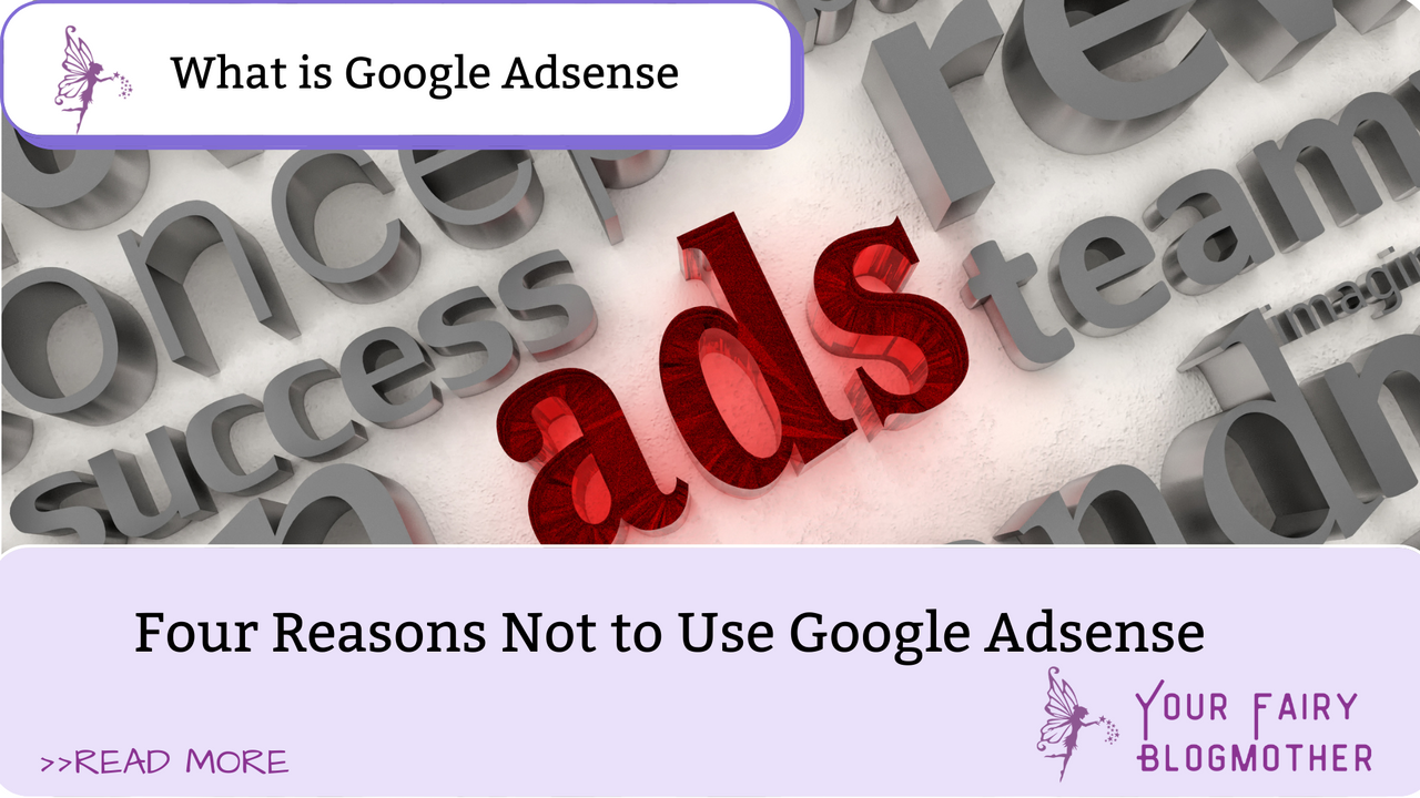 Ads in red, what is Google Adsense