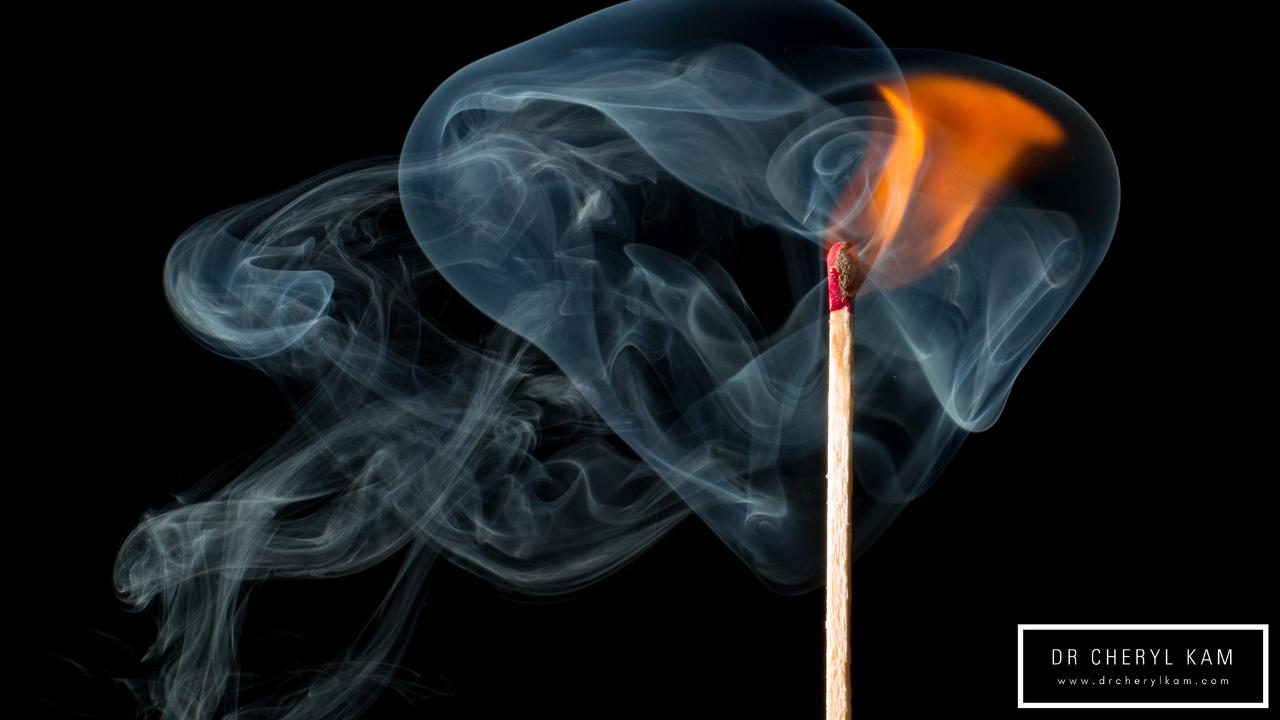 Dr Cheryl Kam - Blog - Functional medicine coach - Singapore - Don't burn out, fire up!