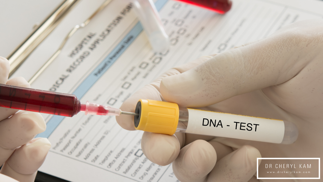 Dr Cheryl Kam - Blog - Functional medicine coach - Singapore - Is testing your DNA really the answer?