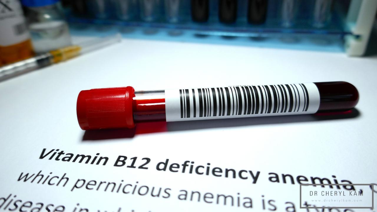 Dr Cheryl Kam - Blog - Functional medicine coach - Singapore - 6 symptoms of Vitamin B12 deficiency