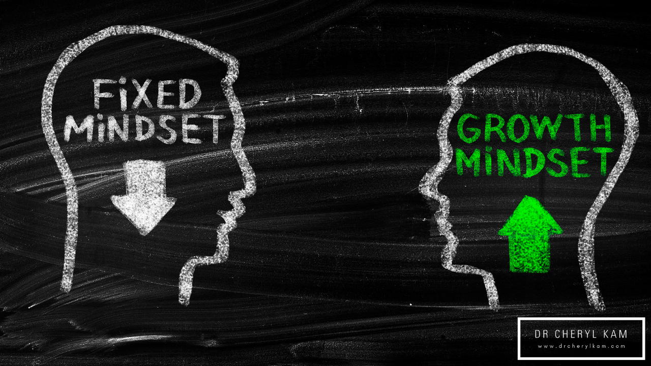 Dr Cheryl Kam - Blog - Functional medicine coach - Singapore - Instilling a growth mindset in ourselves and in our younglings