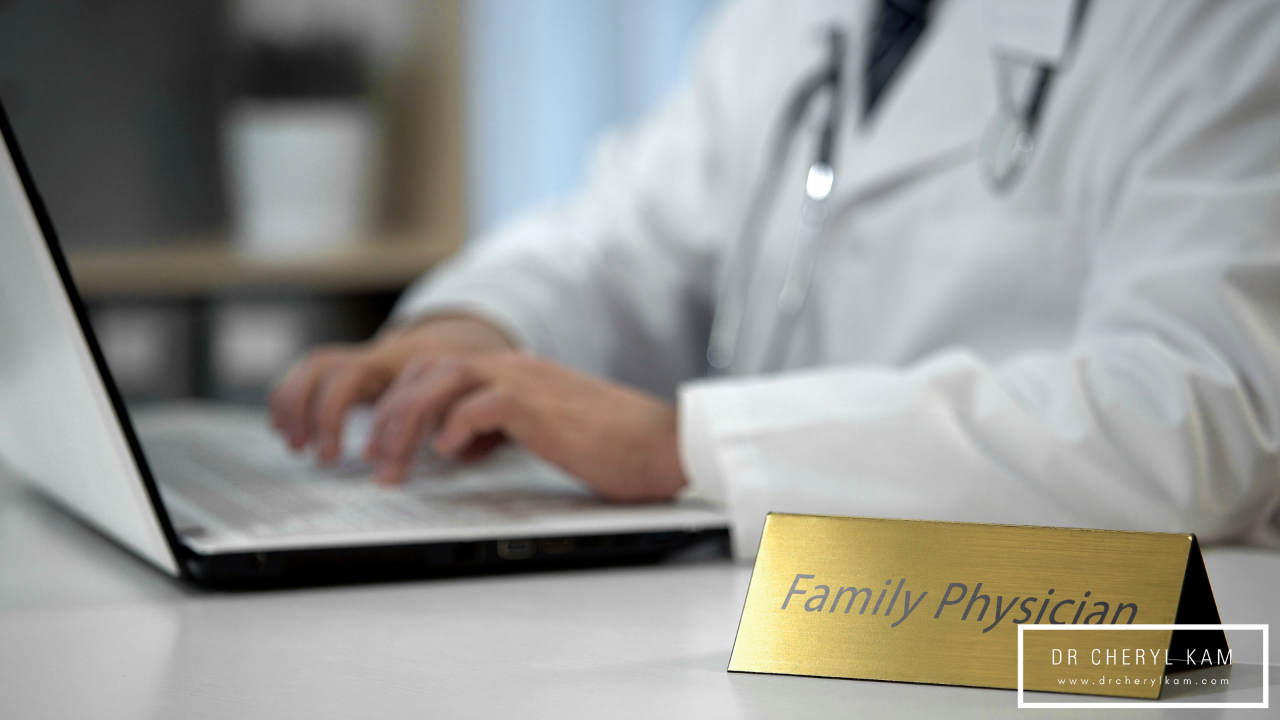 Dr Cheryl Kam - Blog - Functional medicine coach - Singapore - 10 questions to ask your family physician