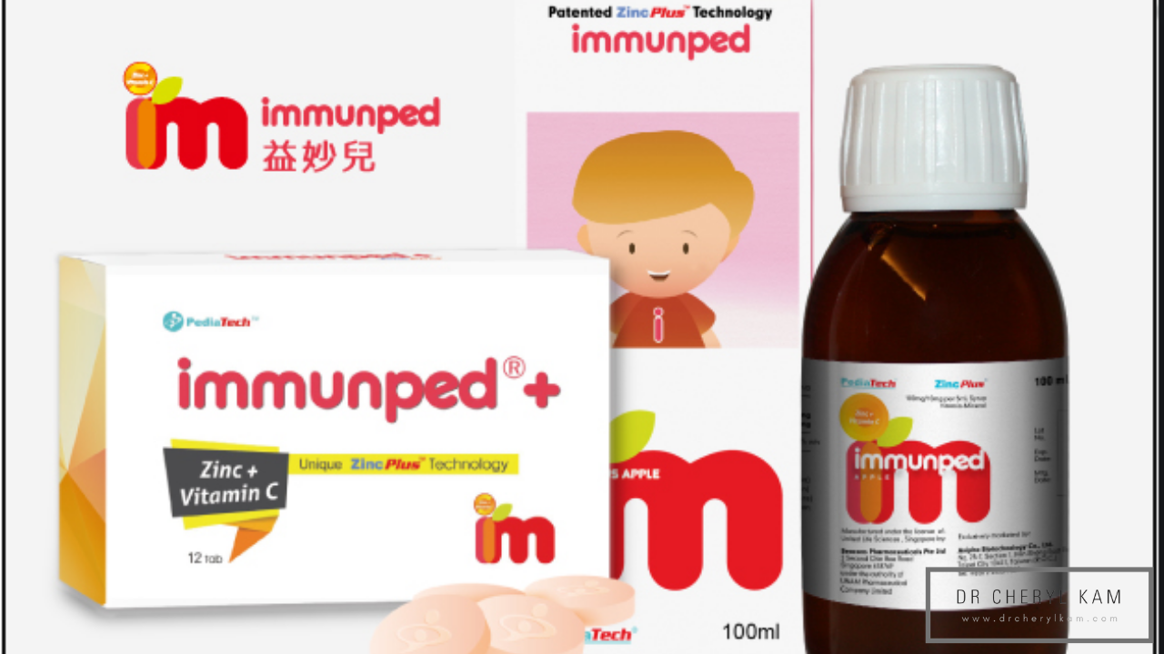 Dr Cheryl Kam - Blog - Functional medicine coach - Singapore - 5 Important nutrients for Kids. (We stock Immunped!)