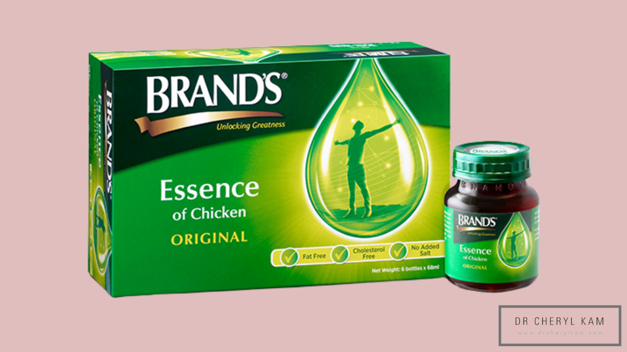 Dr Cheryl Kam - Blog - Functional medicine coach - Singapore - How BRAND'S® Essence of Chicken boosts lactation.