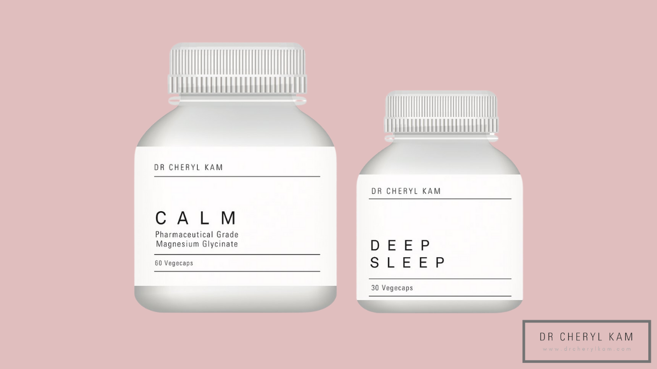 Dr Cheryl Kam - Blog - Functional medicine coach - Singapore - Calm, Sleep, Supplement