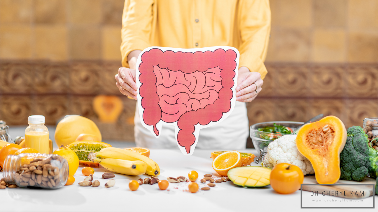 Dr Cheryl Kam - Blog - Functional medicine coach - Singapore - The 6 roles of our Gut