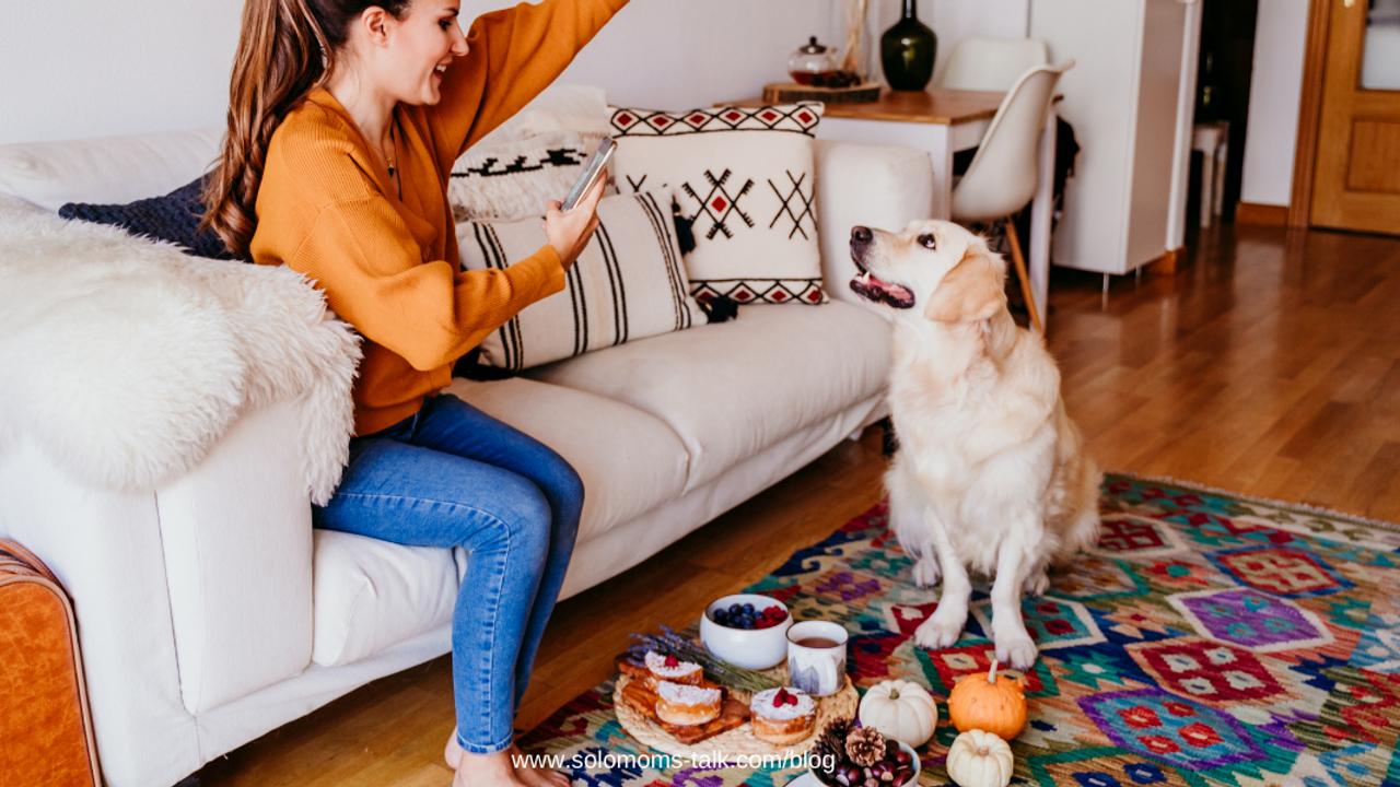 woman-with-dog-on-sofa