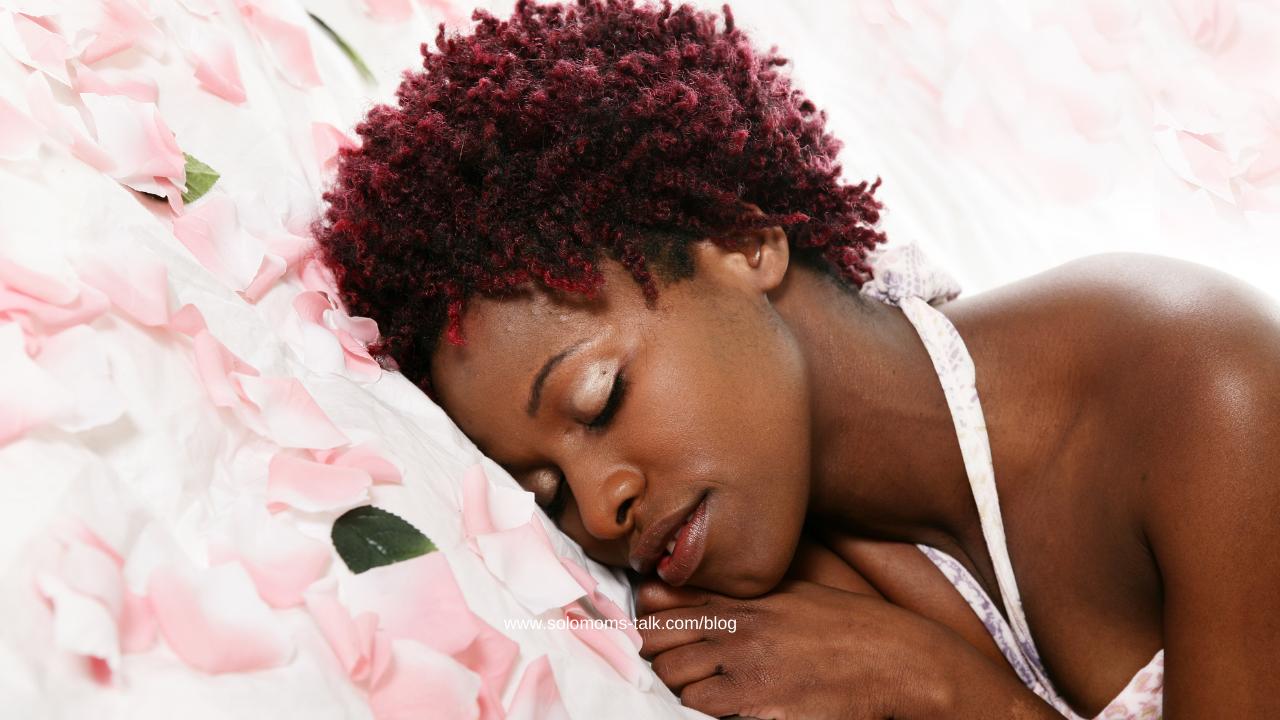 black-woman-sleep